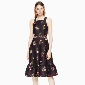 [Kate Spade][NWT] In Bloom Fit and Flare Dress